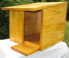 Barn owl and Spotted Eagle owl nesting boxes in kit form