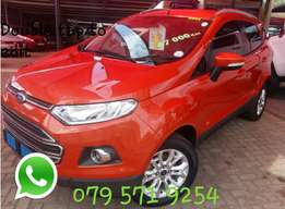 Ford EcoSport 1.0 Eco-Boost R199 900