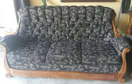 Victorian Style Couches (6 Seats)