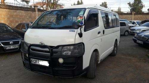2008 Toyota Hiace KCF Auto Diesel. Tour Converted. Work ready!! Kilimani - image 1