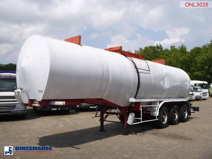 Netam-Fruehauf Bitumen tank steel 31 m3 / 1 comp - 1992