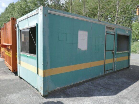 Sale site desk container (to be reconditioned) office container