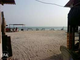 An existing beach bar facing water at lafiaji beach. FOR RENT/LEASE