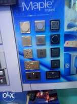 Electric imported switches and sockets best quality guarantee..