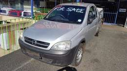 Opel Corsa 1.7DT 2008 model accident damaged bakkie for SALE!!
