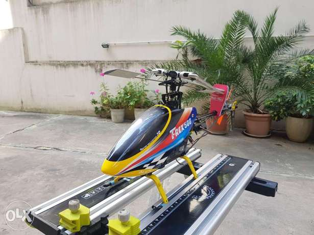Helicopter 3d trex 500 3d almost ready to fly