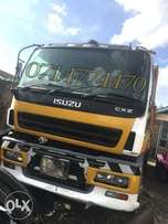 Isuzu tipper x japan with brand new tyres and battery Quick sale