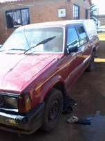 Selling my Ford Courrier Double Cap Bakkie
