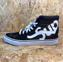 old school vans supreme high sneakers