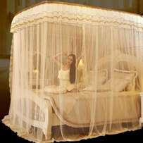 2 stands rail Mosquito net