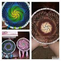 Crocheted Dream catchers