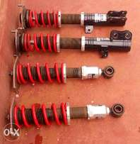 Ex-Japan Coilover shocks with springs