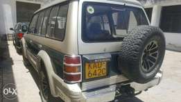 Old school pajero on offer