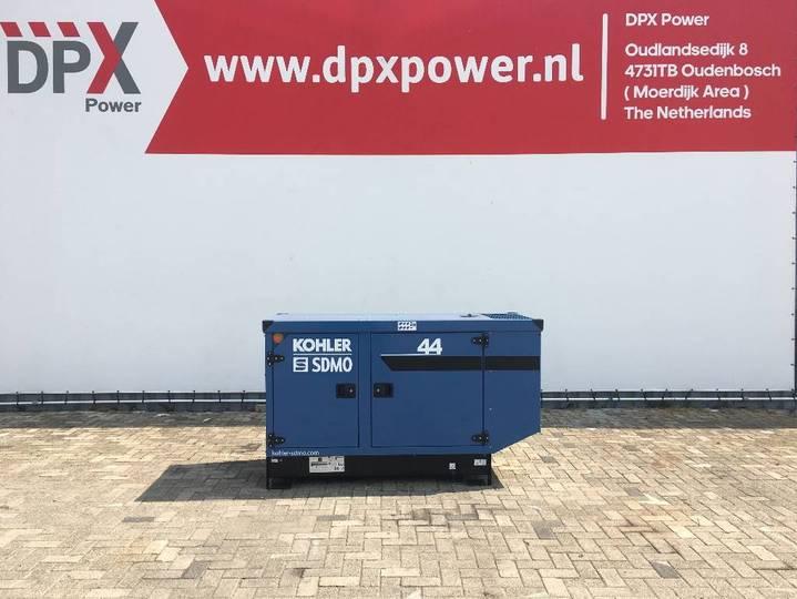 Sdmo J44K - 44 kVA Generator - DPX-17102 - 2019