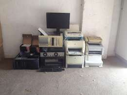 Printer, Desktop, Screen, 3 top Tv box etc for R800