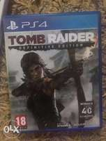 Tomb Raider Playstation 4 (ps4) cd almost new