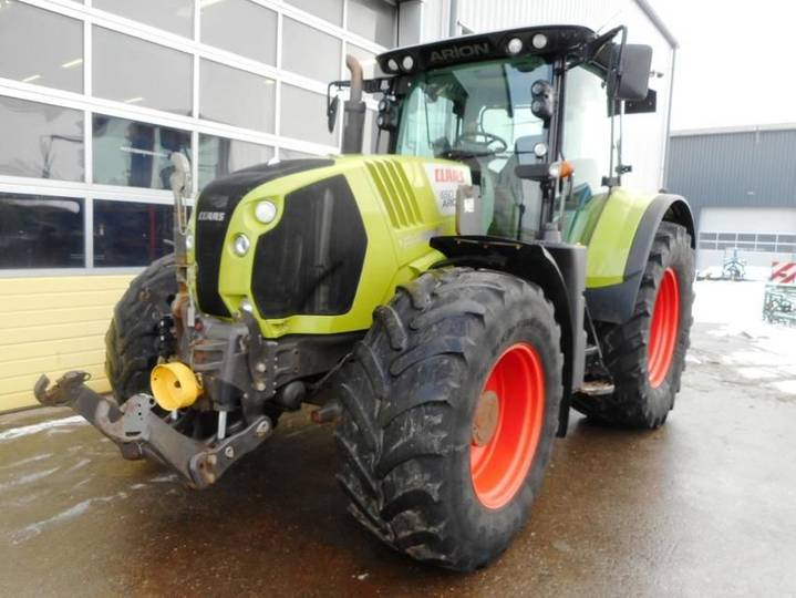 Claas arion 650 - 2013