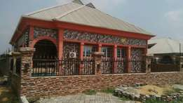 Lavishly finished 4 bedroom bungalow + 2 bedroom bq for sale