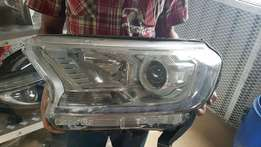 Ford everest complete headlights for sale good condition