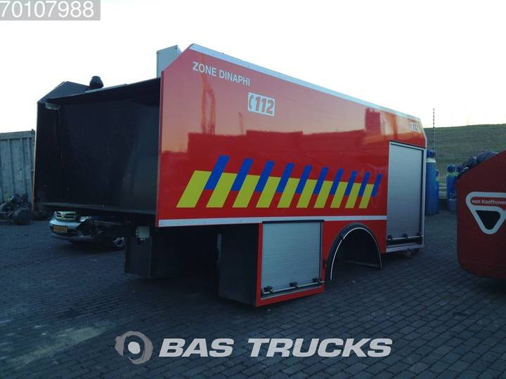 Rosenbauer Firefighting Watertank Body incl. Pump 4X2 - 2006