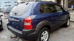 Accident free & very clean tokunbo Hyundai 2007 Tucson.