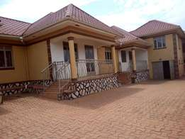 Two bedroom house for rent in namugongo at 400k