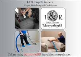 I & R Carpet Cleaners (Special: 3 Rooms for R350)