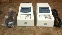 2 Counterfeit Detectors for USD/EURO/GBP/VDN/JPY & local currencies