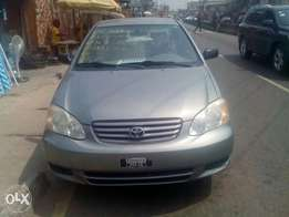 03 corolla Toks Accident free