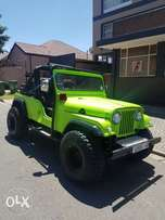 Jeep with Lexus V8 motor