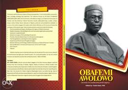 Obafemi Awolowo;Lessons in Leadership and Legacy; by Tunde Oseni.PhD
