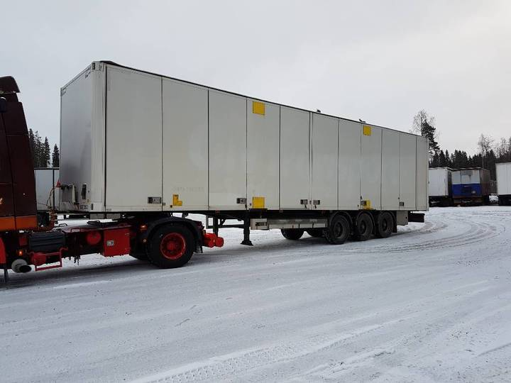 Ekeri Kapellikattopuoliperävaunu/ Egt252/sisäk. 2,80m - 2013
