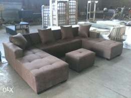 U-shape couch factory