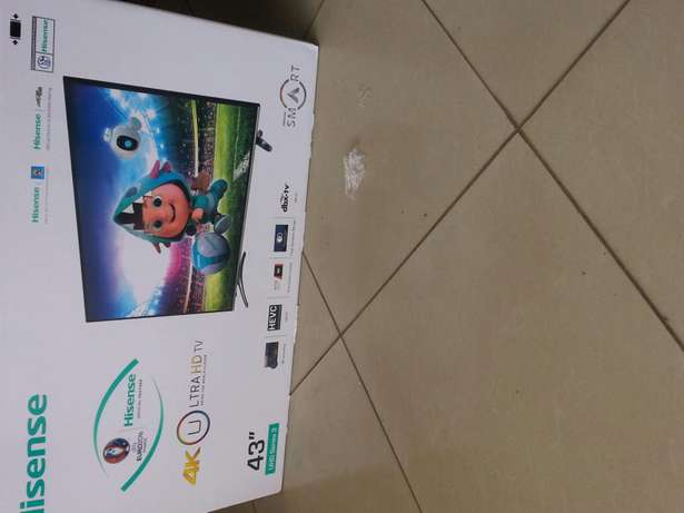 Brand new smart TV 43 hisense Nairobi CBD - image 1