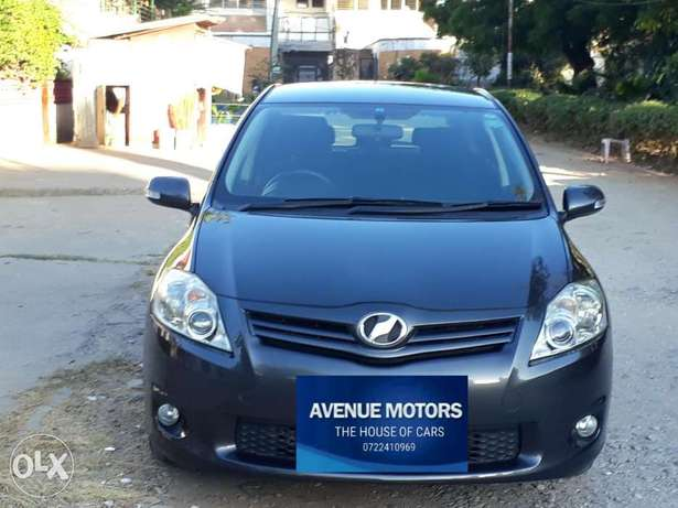 For sale: Toyota Auris 1500cc 2011 at Avenue Motors Ltd Mombasa Island - image 1
