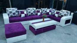Purple sofas order now and get in four days