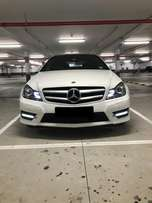 Mercedes C350 AMG Blue Efficiency
