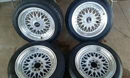 15inch bbs for sale with tyres or swop