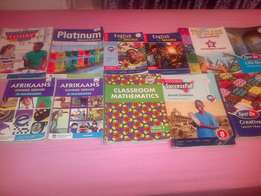 Text books for Grades 3,4,5,6,8
