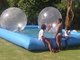 Water pool, water bubble, water boat, bouncy castles for hire