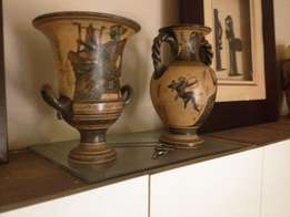 2 x Original Greek Pots Copies with Seal of Authenticity for Sale!