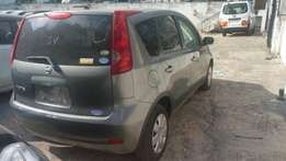 Nissan note grey