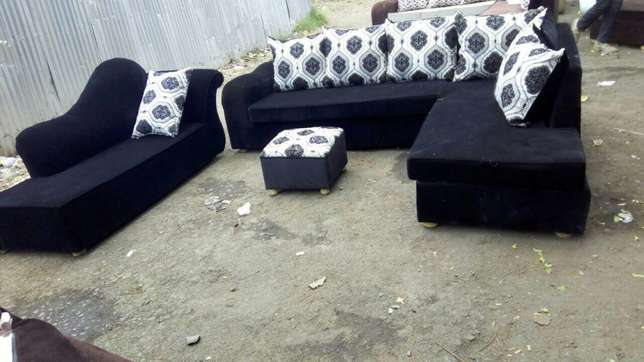 8 seater fabric sofa Ngara - image 2