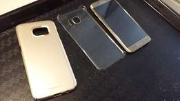 Samsung s7edge covers and tampered glass protectors