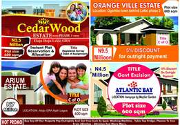 Subscribe to any of these estates and win free gift