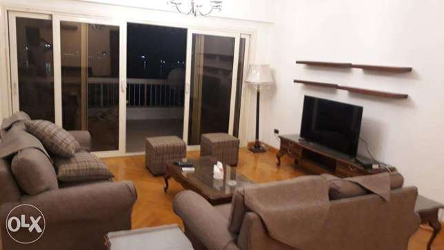 Furnished apartment for rent in Degla Maadi 220m