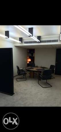 Gemayzeh Fully equipped Office for sale/ rent (Fresh dollars)
