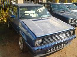 1982 VW Golf 2.0i 2 Door