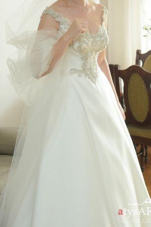 6194112cfc Suknia ślubna marki Maxima