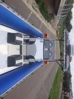 2008 Falcon super duck with 2 x 115hp yamaha 4 stroke motors